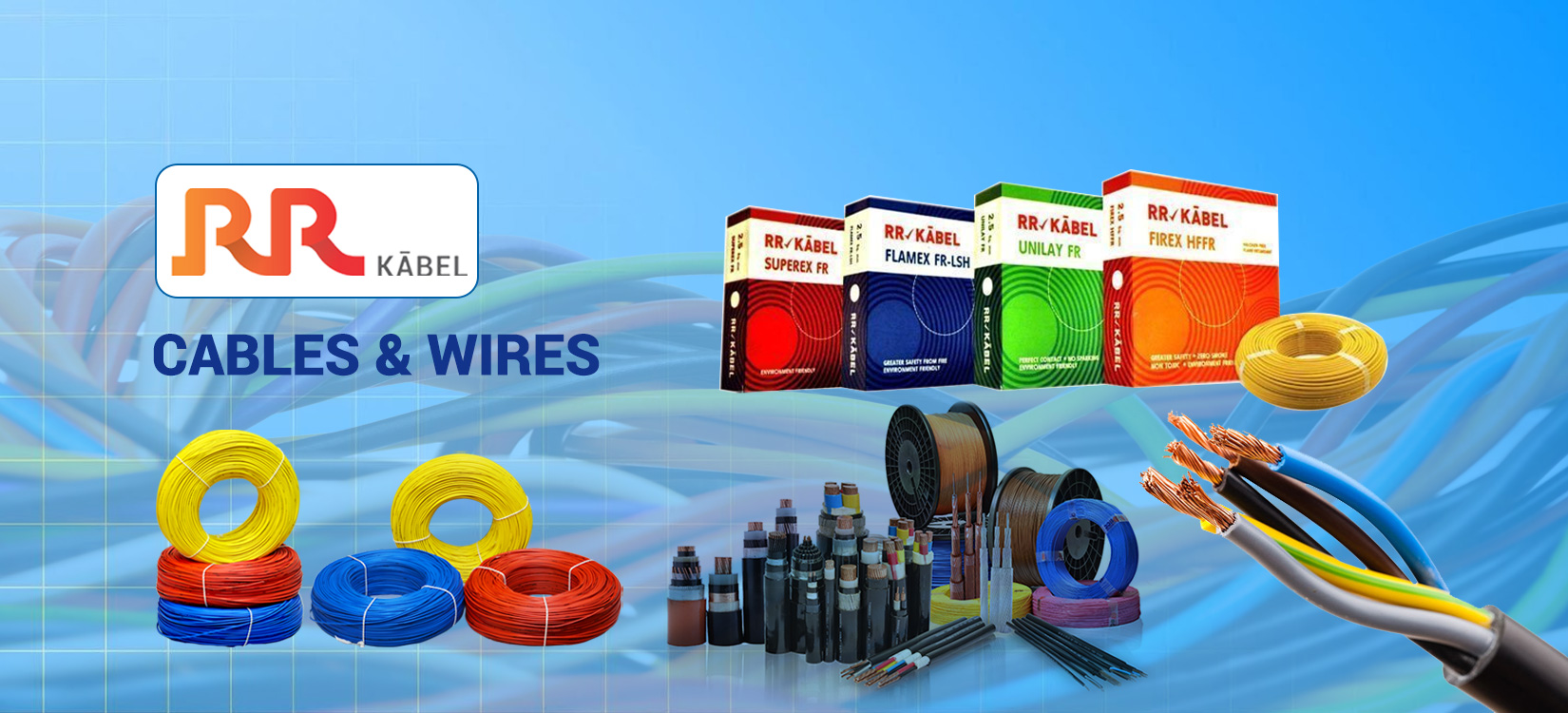 Rr Cables Wires Banner Bhumi Electricals